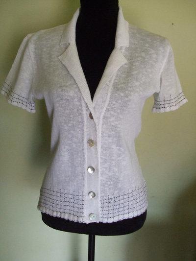 cardigan lino cotone maglia lana