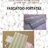DIY - Cartamodello con spiegazioni per realizzare un fasciatoio portatile (formato PDF)