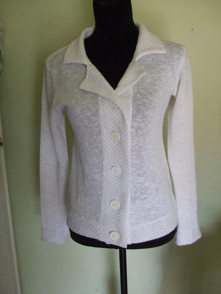 cardigan lino cotone donna maglia