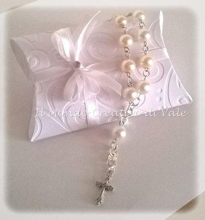 Bomboniera Comunione cresima rosario