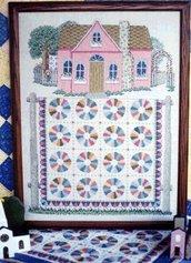 Dresden Plate Cottage - Schema Punto Croce - Linda Meyers