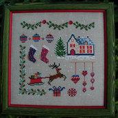 Mon Noel - Schema Punto Croce - Les Ambrosales