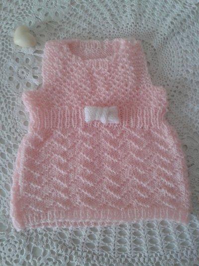 Vestito neonata chic