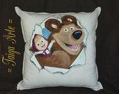 cuscino masha e orso