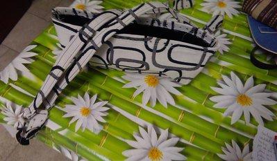 kit in tessuto con manici abbinato