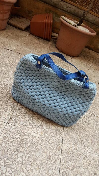 handbag / borsa a mano fettuccia
