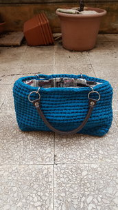 handbag in tulle leggeto