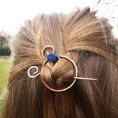 Spilla per capelli Fermaglio per i capelli in rame Accessori donna Accessori capelli Fermasciarpe