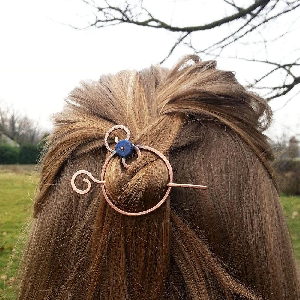 Spilla per capelli Fermaglio per i capelli in rame ...