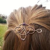 Spilla per capelli Spilla in rame Fermaglio capelli Capelli lunghi