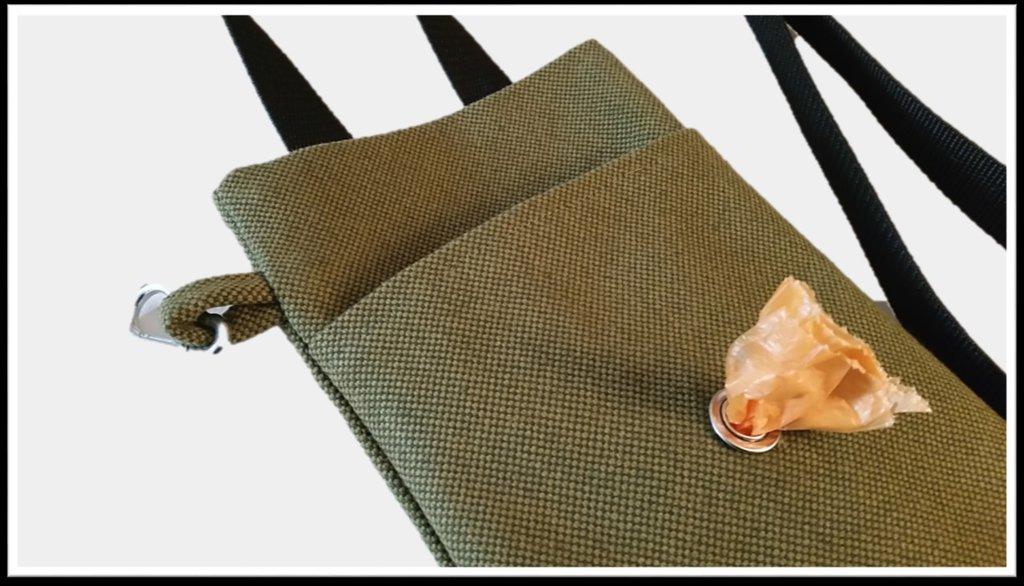 """""""Dog Stroll"""" Bag - Borsetta porta-chiavi e smartphone"""
