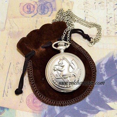Full Metal Alchemist, Distintivo dell'alchimista di stato, orologio collana