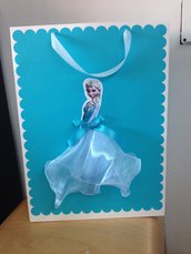 Bag carta decorata Frozen