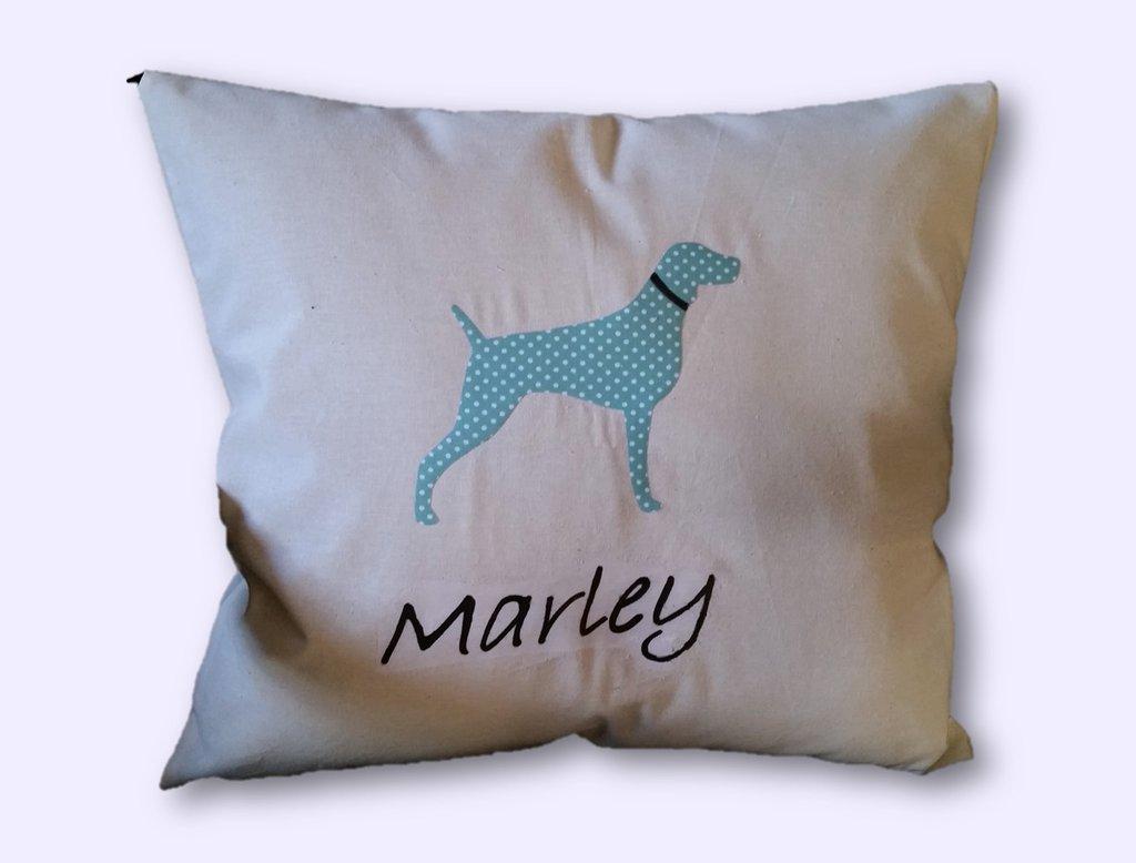 """Cuscino personalizzato """"Dog Silhouette"""""""