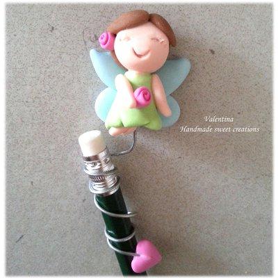 Fatina decorazione rimovibile matita