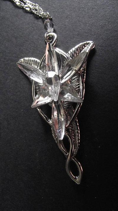 collana Arwen stella del vespro ispirata al Signore degli Anelli