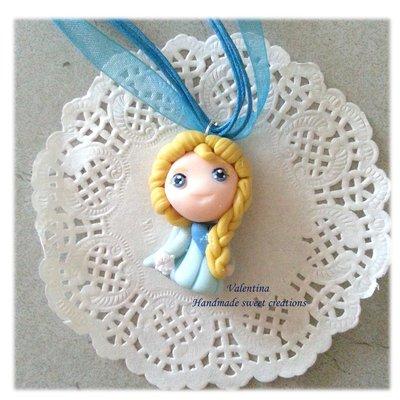 Collana Elsa fimo