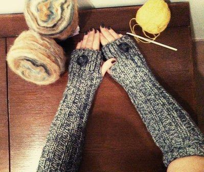 manicotti mezzi guanti lunghi