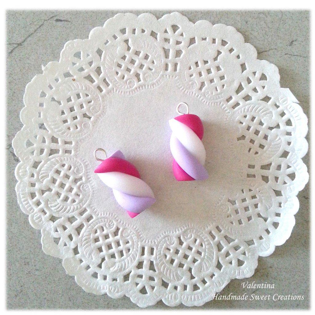 Ciondolo marshmallow  fimo