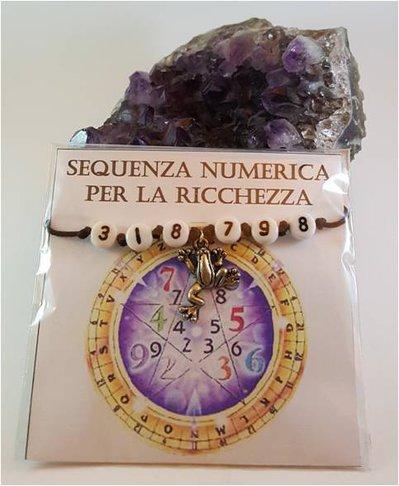 Braccialetti con sequenze numeriche gioielli bracciali e cavig su misshobby - Feng shui quali oggetti portano ricchezza ...