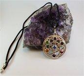 Collana con Medaglione dei Chakra