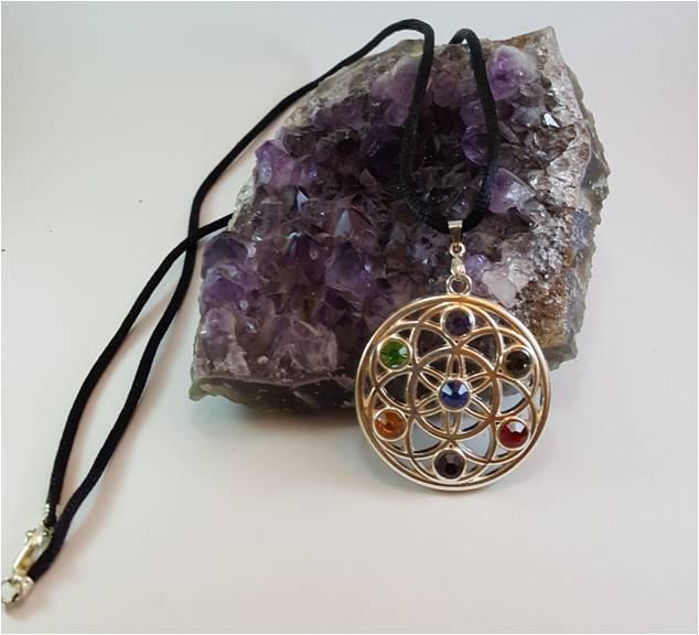 Favorito Collana con Medaglione dei Chakra - Gioielli - Collane - di  BX38