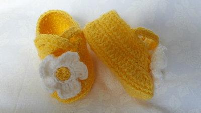 Scarpine gialle primavera