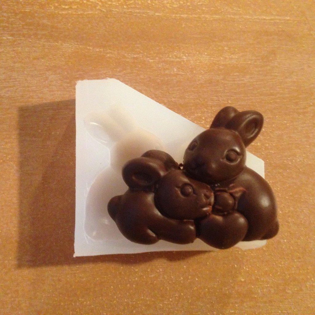 Stampo in silicone ALIMENTARE coniglietti