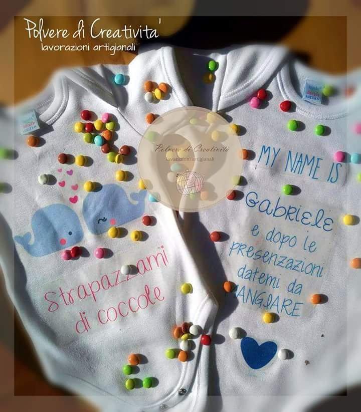Body baby personalizzati