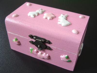 "Mini-portagioie ""Sweet Bunny"""
