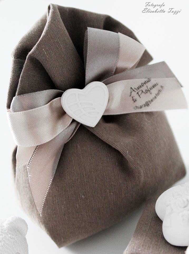 bomboniera sacchetto cotone