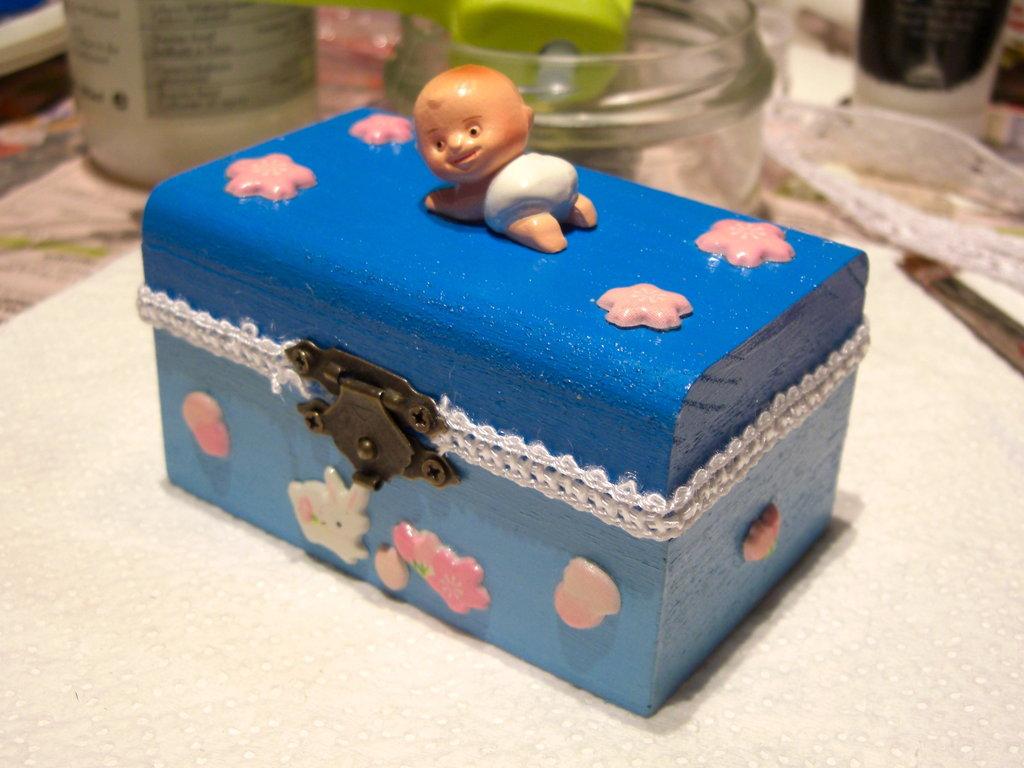 "Mini portagioie  ""Baby Boy"""