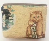 pochette con gattini