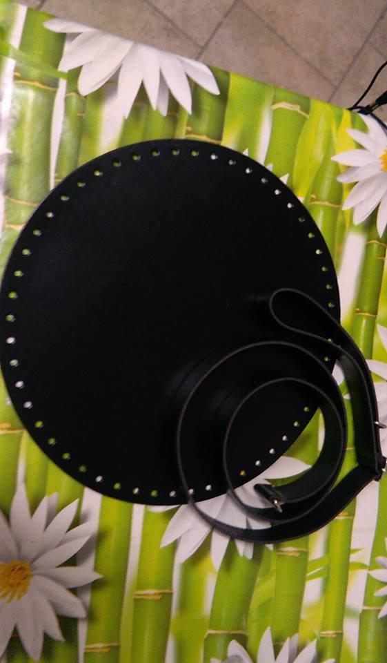 fondo secchiello diametro 28cm nero