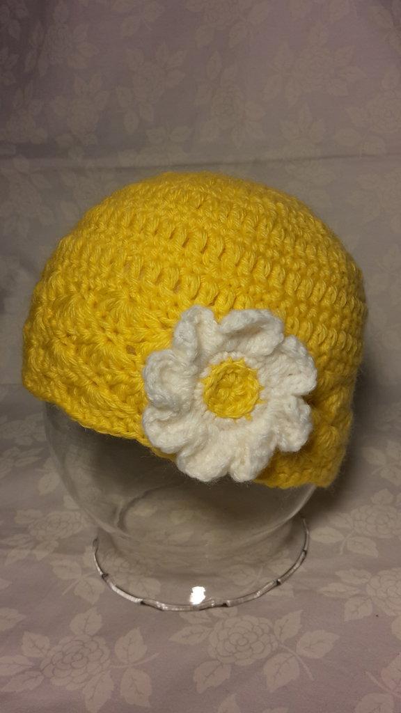 Cappellino giallo primavera