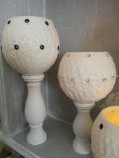 Lanterna artigianale in cera - Wax luminary hand made