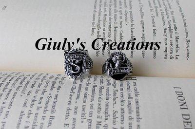 Anello Grifondoro Serpeverde case Hogwarts HARRY POTTER Griffindor Slytherin HP