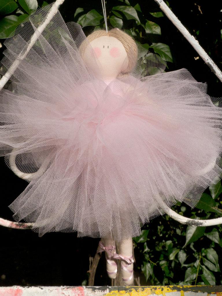 L Arredamento Fai Da Te : Ballerina in tulle rosa feste bomboniere di ma