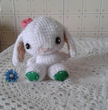 Pupazzo Coniglietta Tenerina