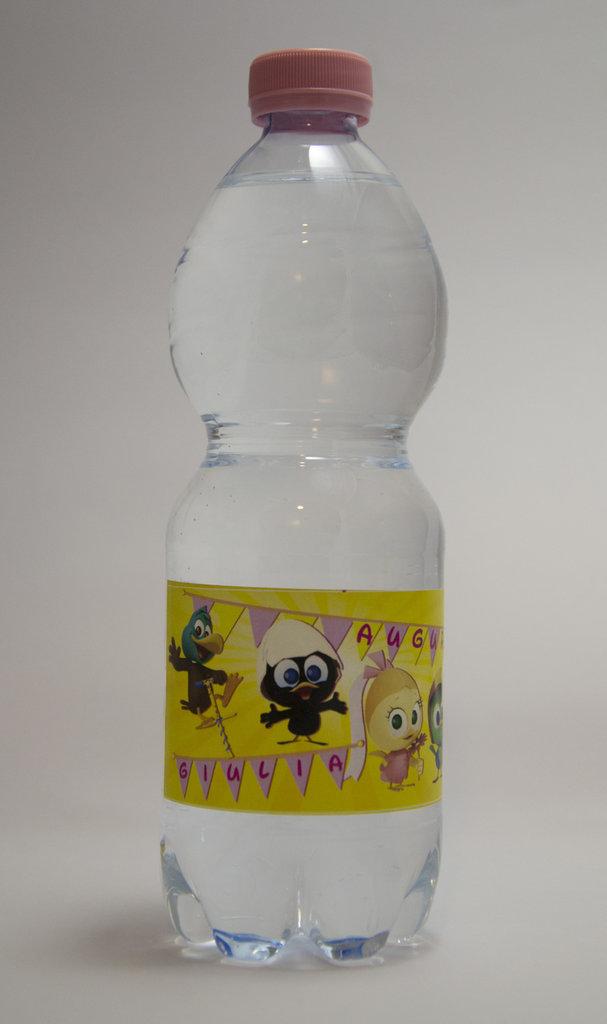 adesivi bottiglie party calimero_priscilla