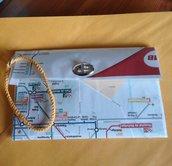 portadocumenti pochette metro Barcellona