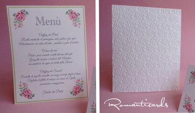 Menù per Marimonio by Romanticards