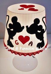 Idea regalo Natale San Valentino uomo donna-Romantica LAMPADA personalizzata-anniversario amore