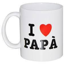 Tazza I love papà!