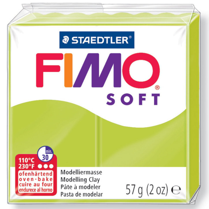 Panetto Fimo Soft 57 gr. - n. 52 green lime