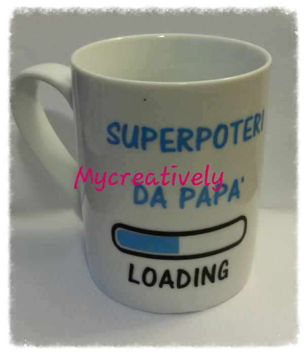 Tazza Superpoteri papà!
