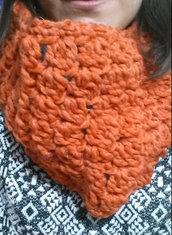 Sciarpa/Collo Arancio Vivo