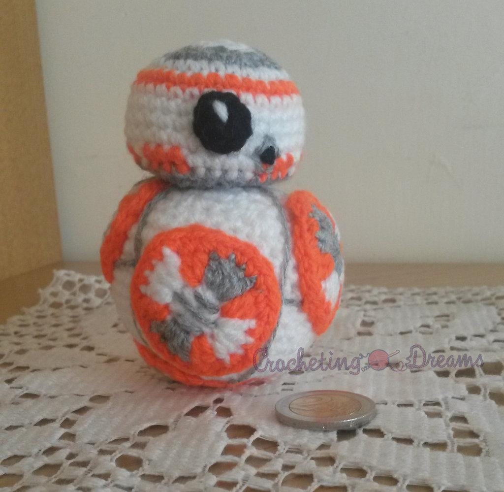 Droide BB-8 Amigurumi