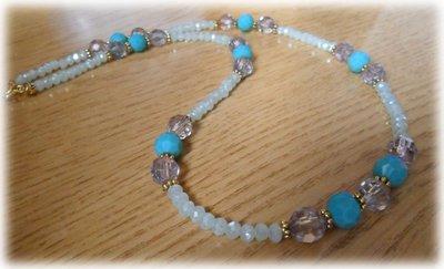 Collana di perle stile indiano