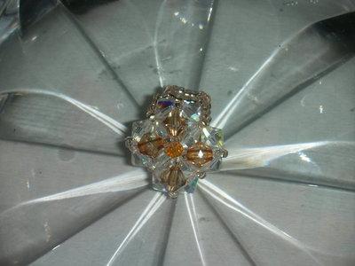 anello fiore di topazio